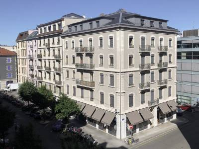 Rues Berne / Michel-Roset / Alpes, Genève