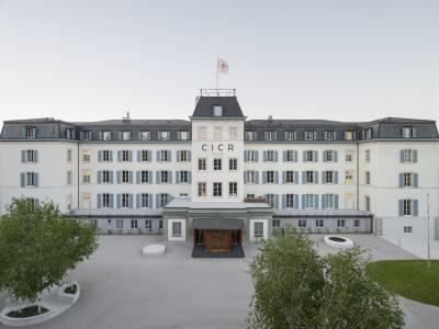 Rénovation du siège de la Croix-Rouge, Genève