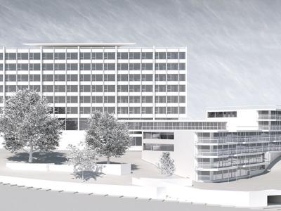 Bâtiment administratif Florimont, Lausanne