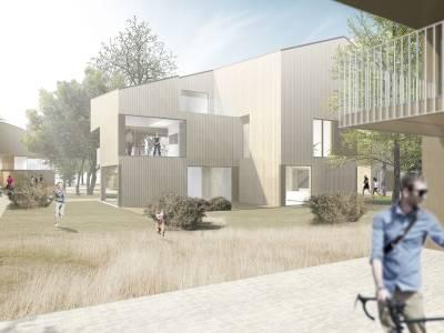 "Projet de logements ""Les Marins"", Epalinges"