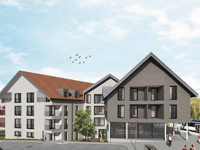 Bâtiments de logements protégés et libres, Blonay