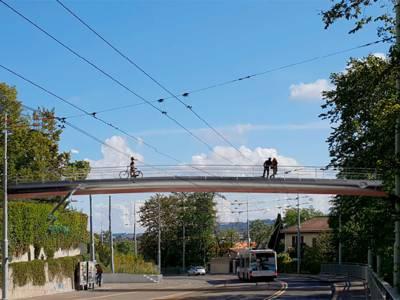 Passerelle Tivoli-Surville, Lancy Genève