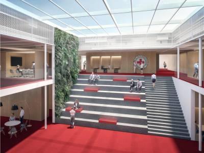 Bâtiments administratifs 5 et 6, Croix-Rouge, Genève