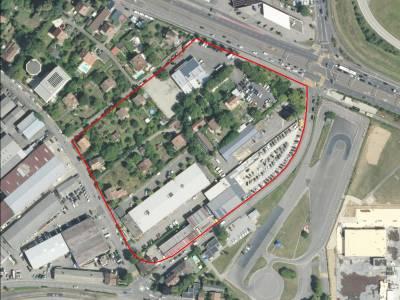"""Pièce urbaine pour activités secondaires et tertiaires, secteur """"Plantin"""", Meyrin"""