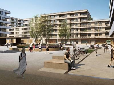 """Communaux d'Ambilly, parcelle 6479, Immeuble """"Voirons bloc 2"""", Thônex"""