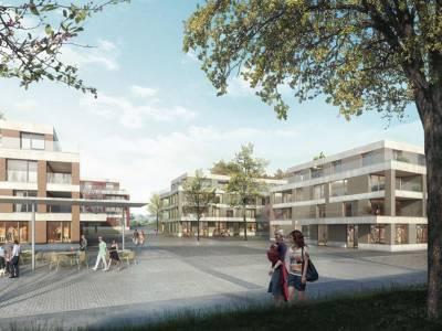 Réaménagement de la place de la Vernette, plan de quartier, Gimel