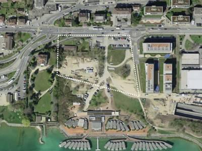 Plan de quartier Monruz-Sud - Ensemble Gouttes d'Or, Neuchâtel
